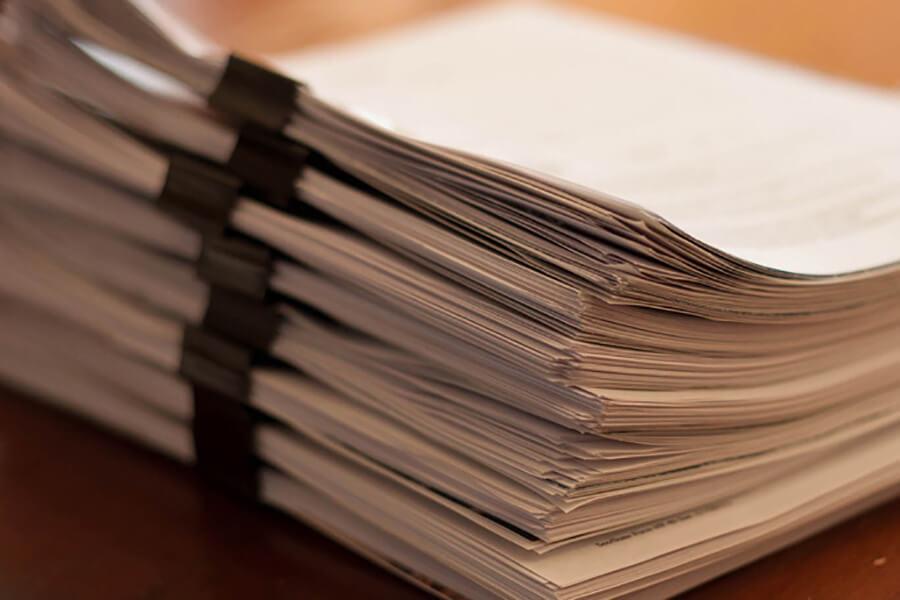 Пакет документов для иска о банкротстве