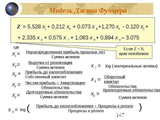 Формула Фулмера